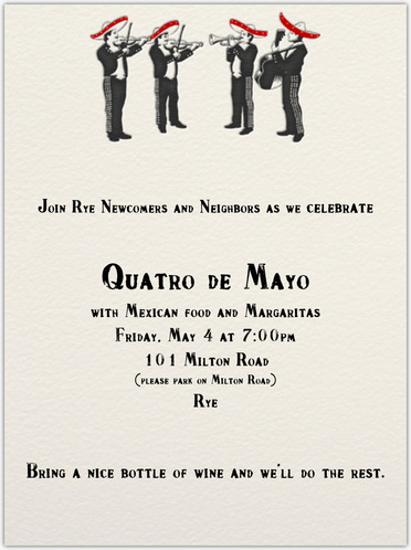 QUATRO DE MAYO CELEBRATION