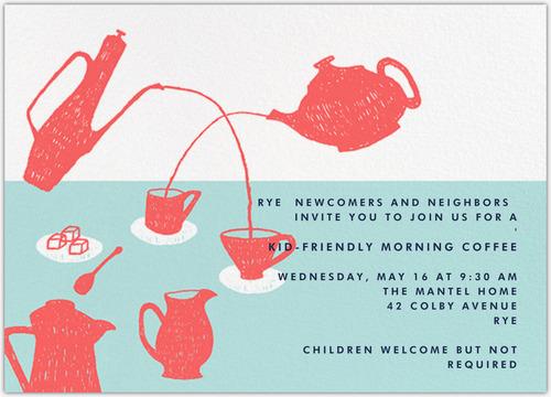 KID-FRIENDLY MORNING COFFEE