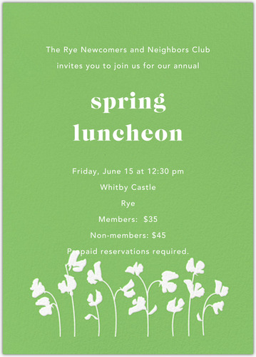 ANNUAL SPRING LUNCHEON