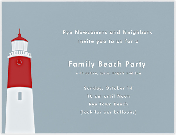 FAMILY BEACH PARTY