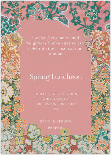 Spring Luncheon